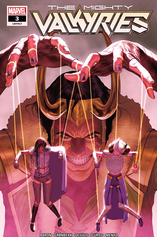 漫威漫画「神威瓦尔基里」第三期封面公开