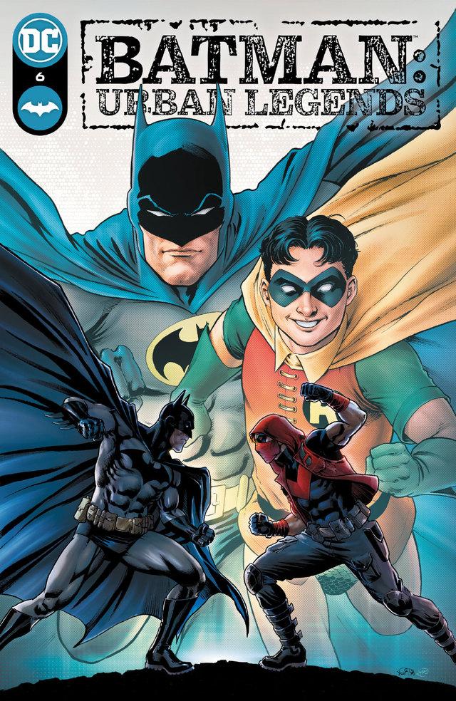 DC漫画「蝙蝠侠:城市传奇」第6期封面公开