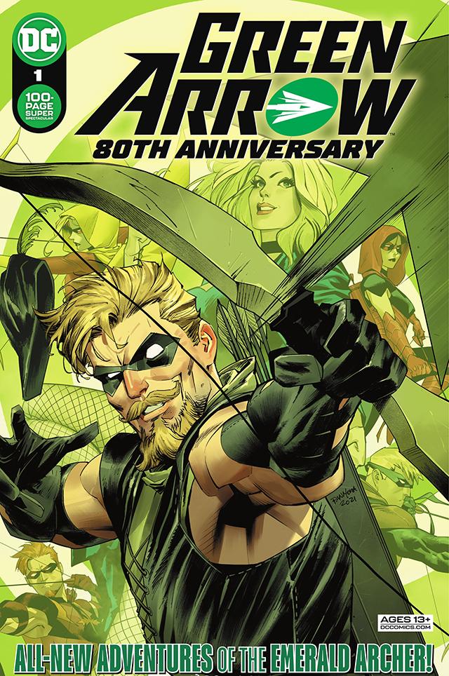 「绿箭侠」80周年超长单刊第1期封面正式公开
