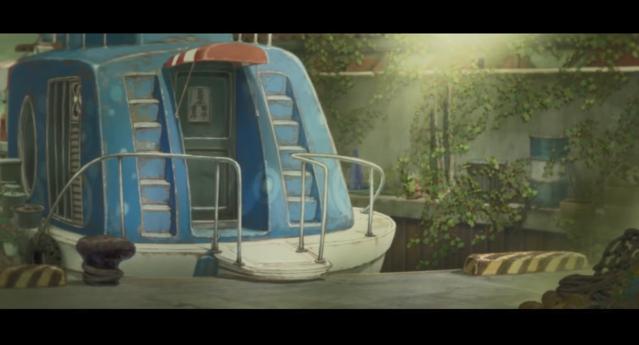 「渔港的肉子酱」结尾曲「たけてん」动画MV公开