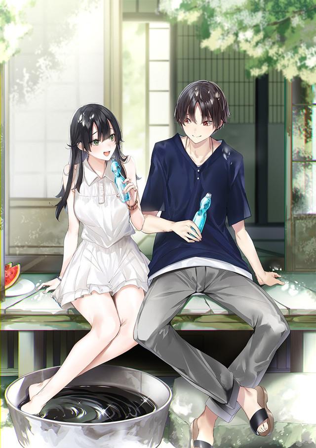 「替父母还债的条件是和日本最可爱的女高中生一起生活」第3卷封面公开
