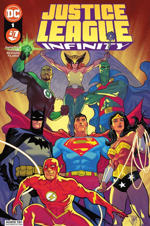 DC漫画「正义联盟无限」第1期封面公开