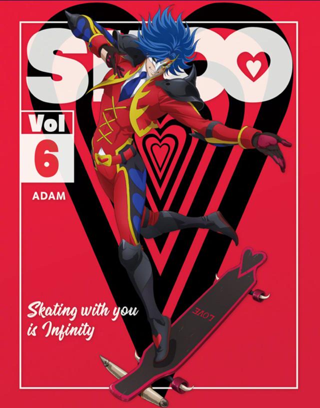 「无限滑板」公开BD第6卷封面