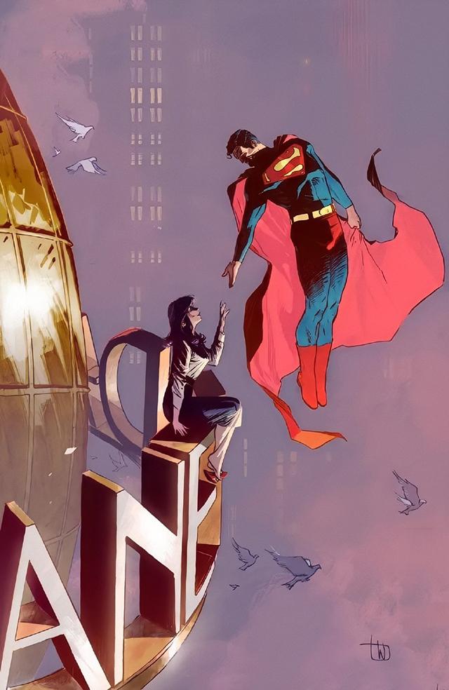 DC漫画公开里夫超人纪念刊第三期封面