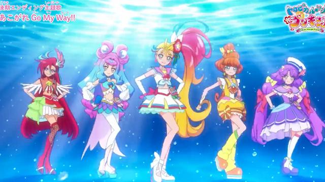 「Tropical-Rouge!光之美少女」后篇ED主题曲动画MV公开