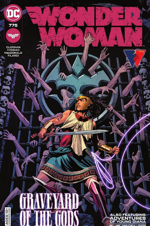 DC漫画「神奇女侠」第775期正式封面公开