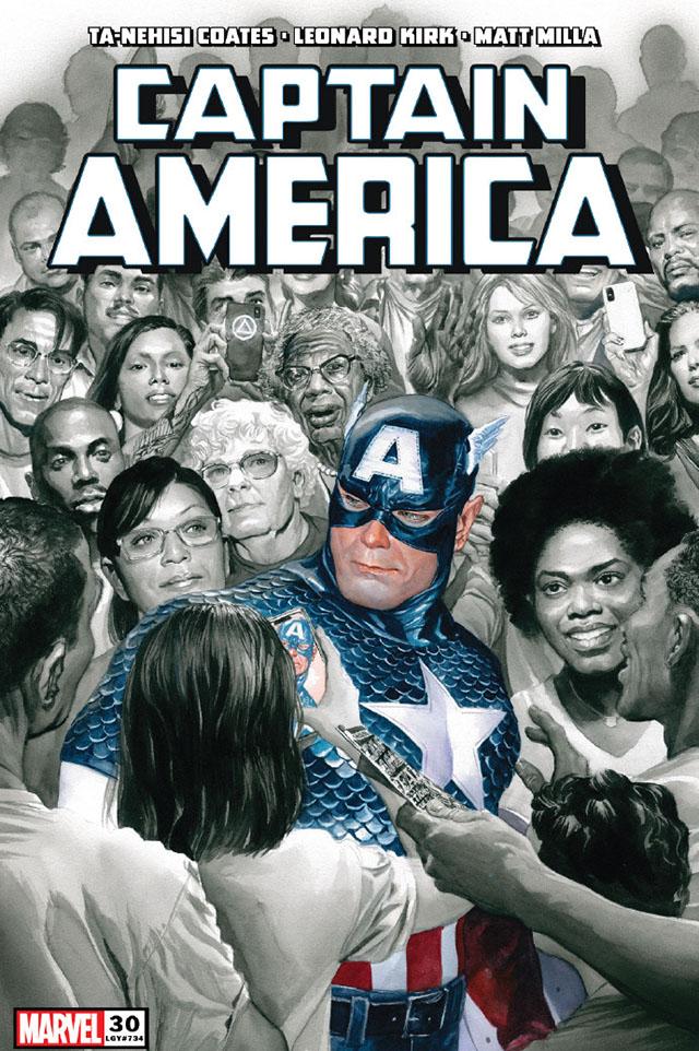 「美国队长」第30期正式封面公开