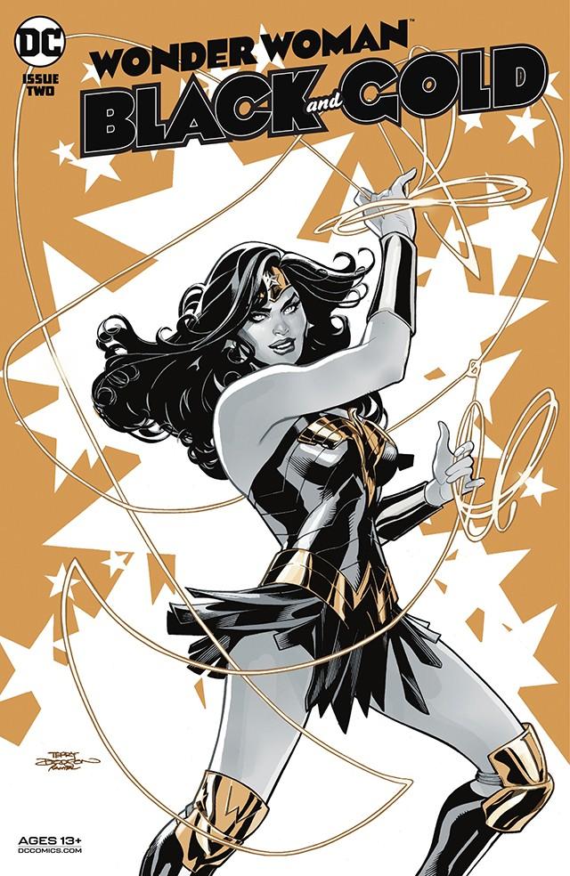 「神奇女侠:黑与金」第二期正式封面公开