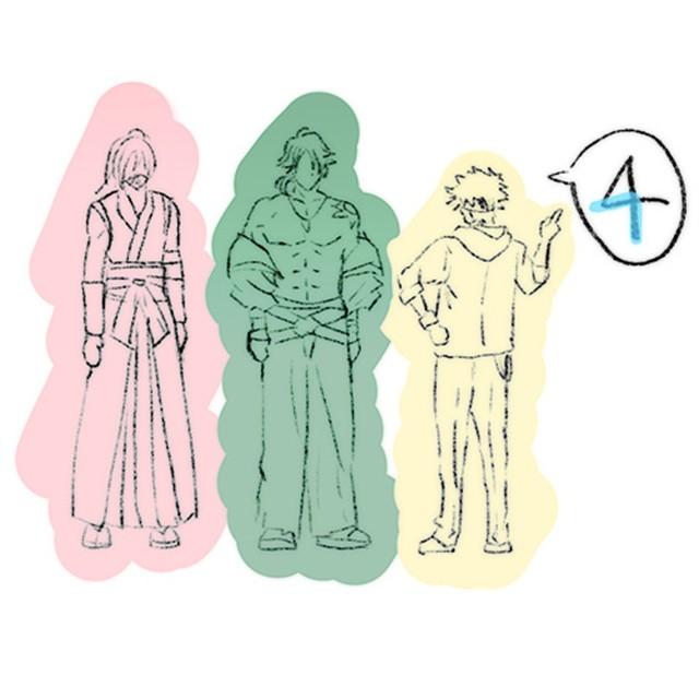 """「无限滑板」监督最新绘制的""""∞の日""""数字pose合集公开"""