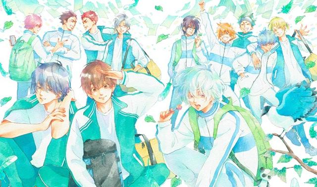 动画「后空翻!!」公开第三卷BD&DVD BOX封面插图